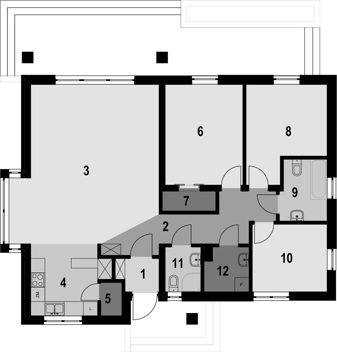 Dom Jednorodzinny D1